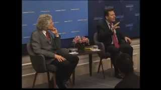 Global Ethics Forum: Steven Pinker & Robert D. Kaplan: Is the World Becoming More Peaceful?