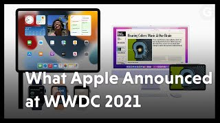Everything Apple Announced at WWDC 2021