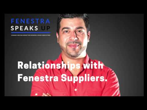 Relationship with Fenestra Suppliers