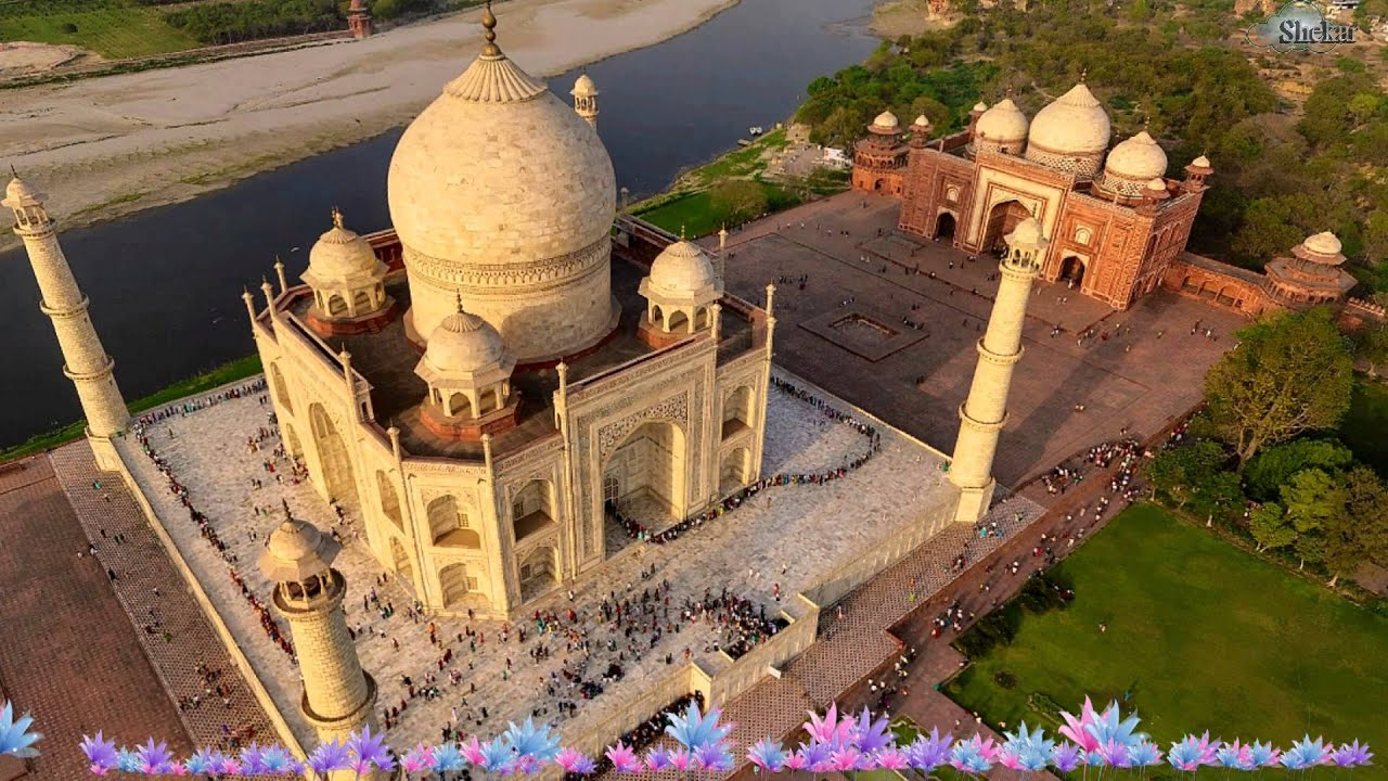 Taj Mahal Hd Wallpaper Taj Mahal In India Youtube