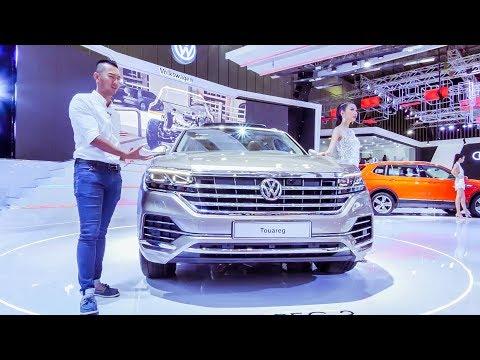 VMS 2018 - Chi tiết Volkswagen Touareg 2018 - Chiếc SUV Châu Âu đáng mong đợi