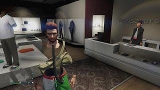 Gta 5 How To Get Invisible Torso And Arms EASIEST METHOD