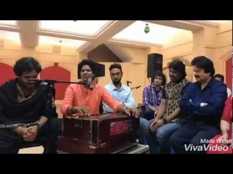 Diwakar Meena in Front of Pankaj Udhas Ji | Rekha Bhardwaj ji | Talat Aziz ji | Kaushiki ji, Etc..