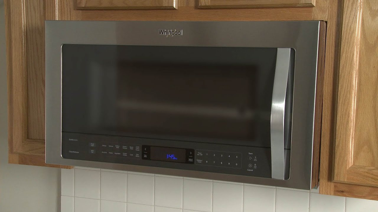 Whirlpool Microwave Oven Hood Combo Disassembly