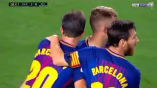 barcelona vs real betis highlights 2-0 arabic commentary