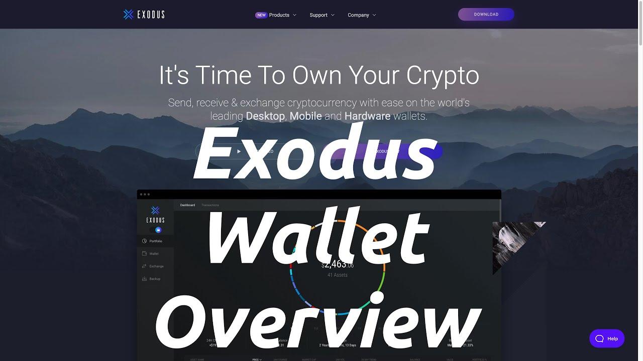 Exodus Wallet Overview