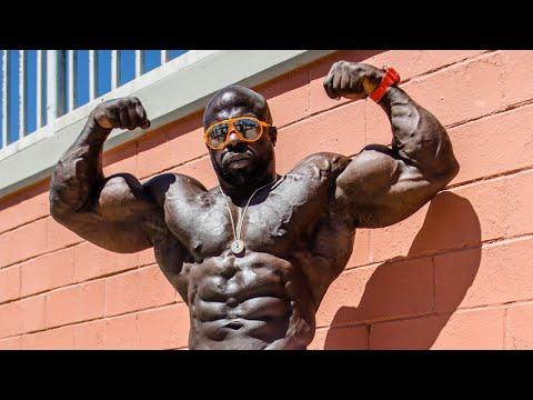 Kali Muscle (LIVE🔴) Back + Bicep + Trap Workout