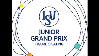 ISU 2014 Jr Grand Prix Ljubljana Free Dance