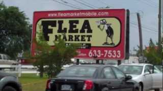 Outdoor Flea Market in Mobile Alabama