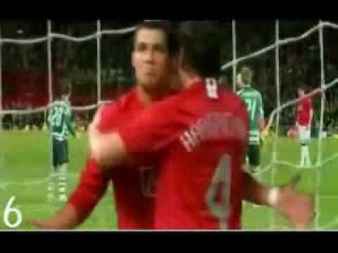 video clip 10 ban thang dep nhat cua Cristiano Ronaldo mua giai 07_08.wmv
