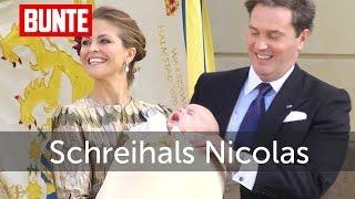 Silvia von Schweden - Süßes Interview über Schreihals Nicolas - BUNTE TV