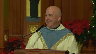 Msgr. Tom Coogan's Homily on the Feast of the Baptism of the Lord