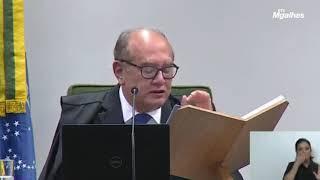 """Gilmar Mendes vota a favor de Arthur Lira no """"Quadrilhão do PP"""""""