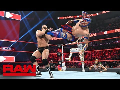 Lucha House Party vs. The Revival: Raw, Jan. 14, 2019