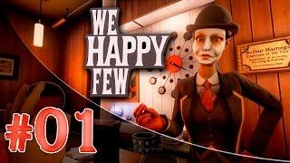 Новое прохождение We Happy Few #1 - Крысиная пеньята (Проходим полную версию)