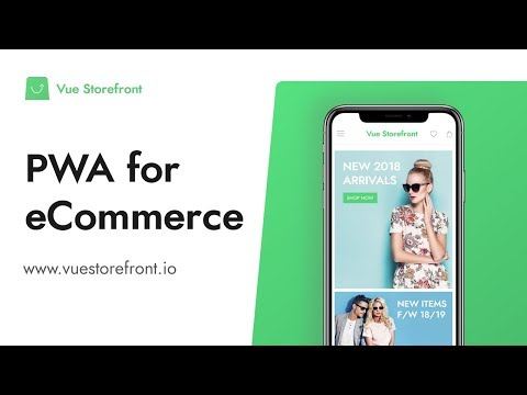 Vue Storefront - Open Source PWA eCommerce Solution Demo