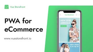 Vue Storefront - Open Source PWA eCommerce Solution Demo
