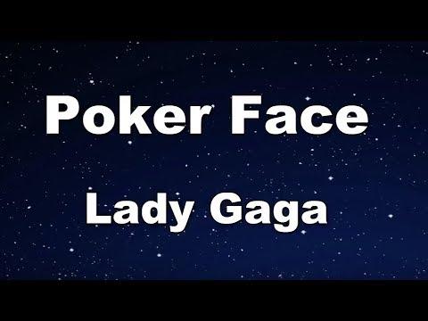Poker Face - Lady Gaga Karaoke【No Guide Melody】