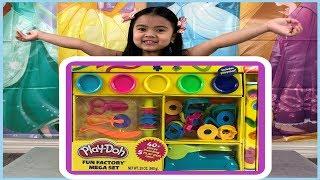 Sky's Play Doh Fun Factory Mega Set Unboxing
