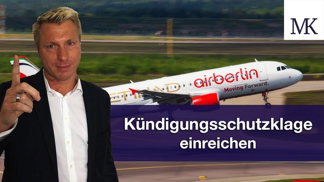 Air Berlin Letzter Flug Jetzt Unbedingt Gegen Kündigung Vorgehen Fragmingers