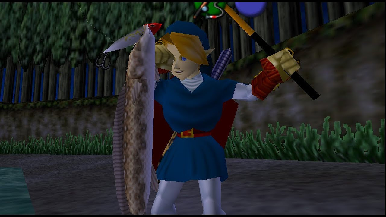 Ocarina of time: scarecrow's song guide.