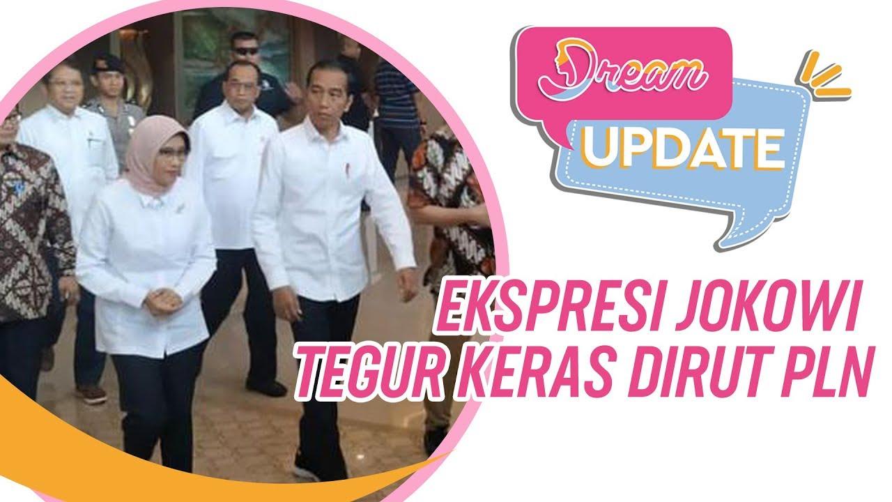 Ekspresi Jokowi Tegur Keras Dirut PLN