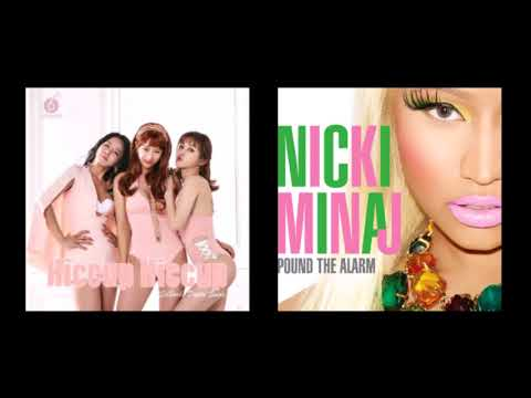 [MASH-UP] SIXBOMB & Nicki Minaj / Pound The Hiccup