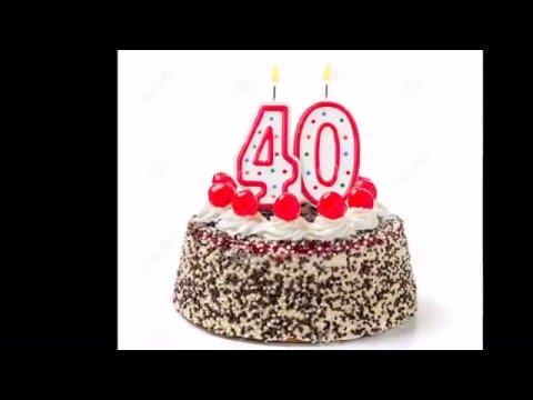 idézetek 40 éves szülinapra Boldog 40. születésnapot! Születésnapi köszöntő videó nők számára