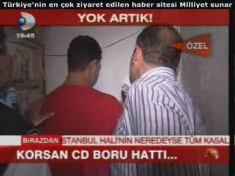 Korsan CD boru hattını (Yok Artık) izleyin, Beşiktaş, İstanbul, 24.07.2009