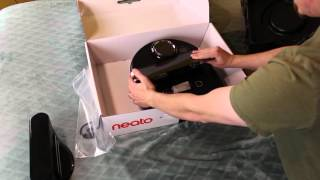 neato Botvac Connected Unboxing and Setup
