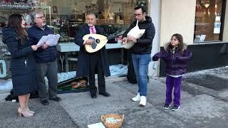 Singers/Musicians Spread Greek Holiday Cheer in Astoria