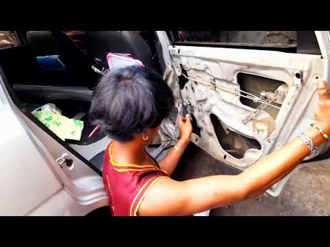 Repair Mechanism & Window Glass holder DIY: Maruti Suzuki Alto 800