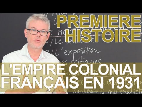 L'empire colonial français en 1931 (S) - Histoire-Géographie - 1ère - Les Bons Profs