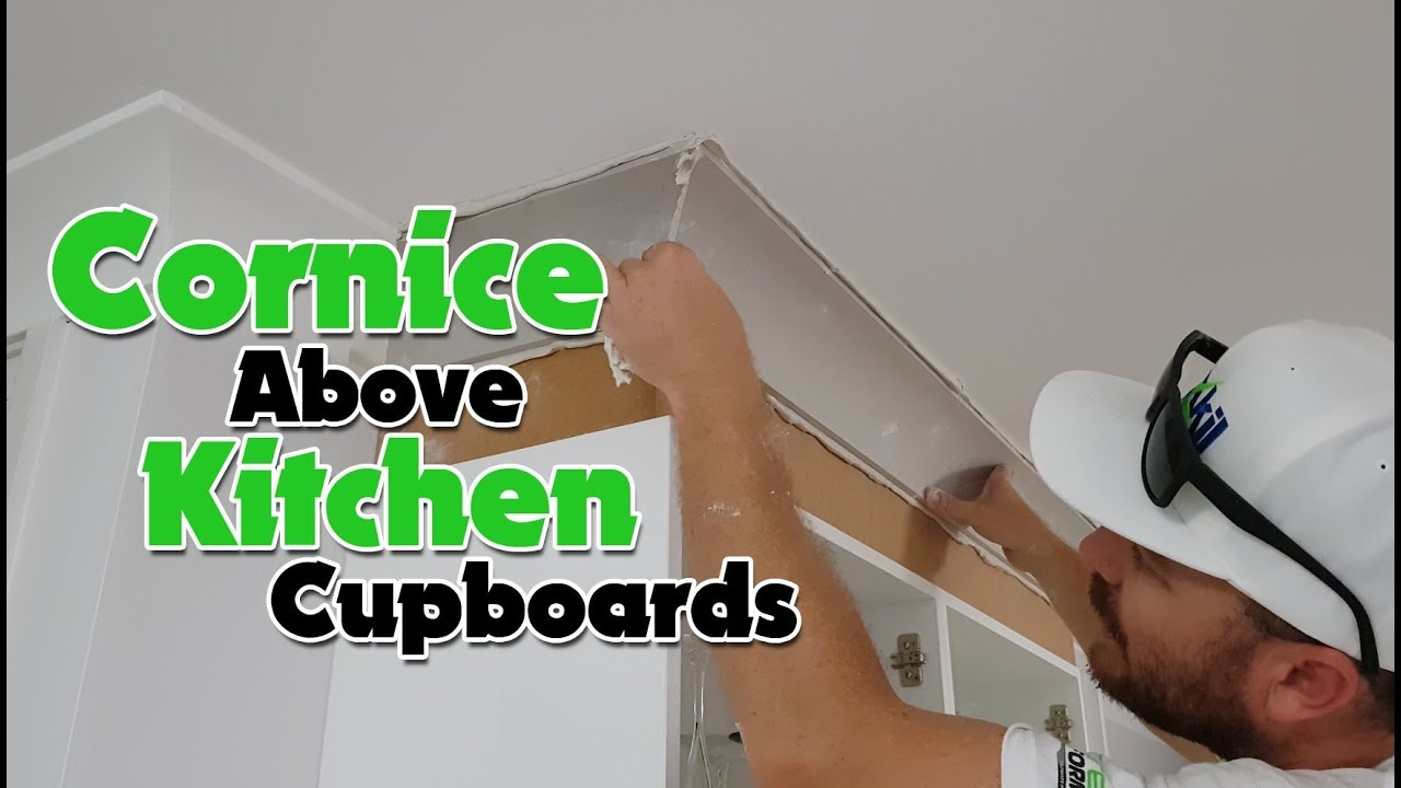 Cornice Above Kitchen Cupboards