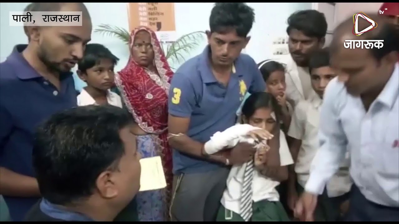 पाली: स्कूली बच्चों से भरा टेम्पो पलटा, कई घायल