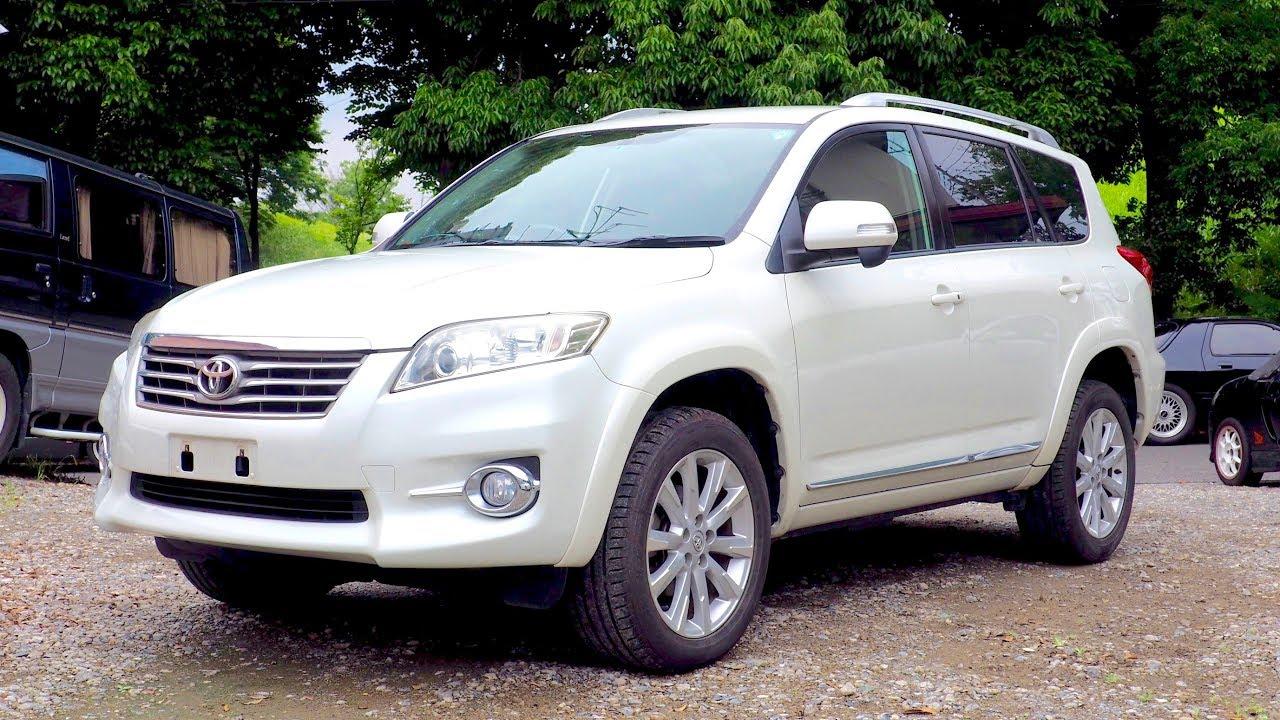 2010 Toyota Vanguard 240s S Package Kenya Import Japan Auction