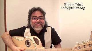 Test for bent fret-boards learn Paco de Lucia´s course of action  / Ruben Diaz flamenco guitar