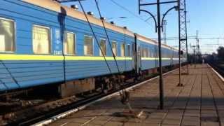 In Sleeper Car Odessa - Uzhgorod (Поезд № 108Ш 'св' Одесса - Ужгород)