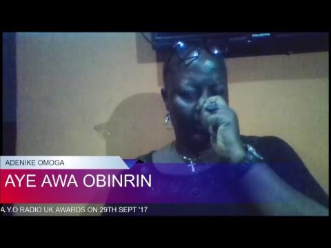 AYE AWA OBINRIN BY ADENIKE OMOGA LIVE in Lagos