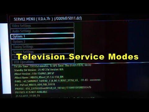 Telefunken Fernseher Vestel : Television service modes youtube