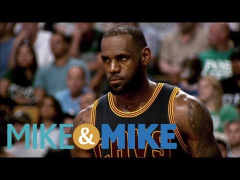 Dan Dakich Sees LeBron James Playing For The Lakers | Mike & Mike | ESPN