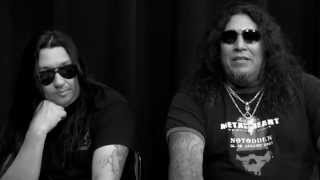 TESTAMENT - Artist Profile Interview w/ Chuck Billy + Eric Peterson: PART 2 (OFFICIAL INTERVEW)