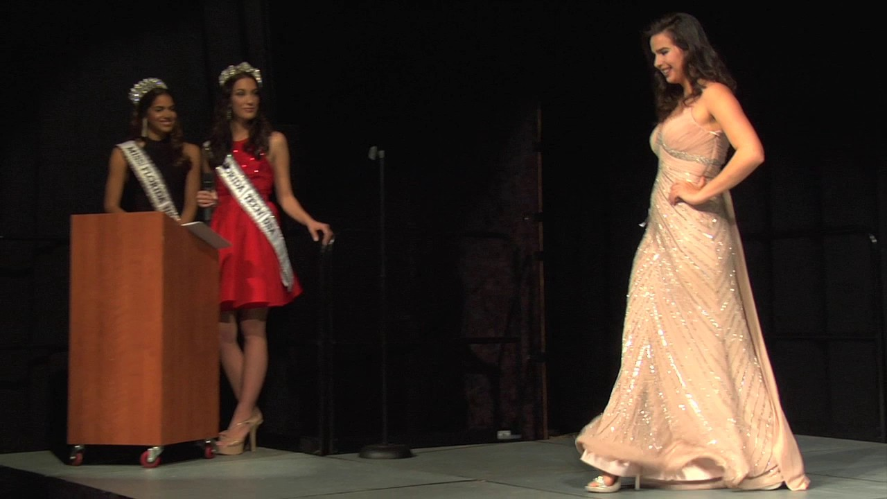 03 Miss Miami USA 2018 Evening Gowns - YouTube
