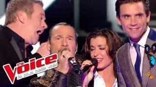 Prince – Kiss | Mika, Jenifer, Garou et  Florent Pagny | The Voice France 2014│Quart de Finale