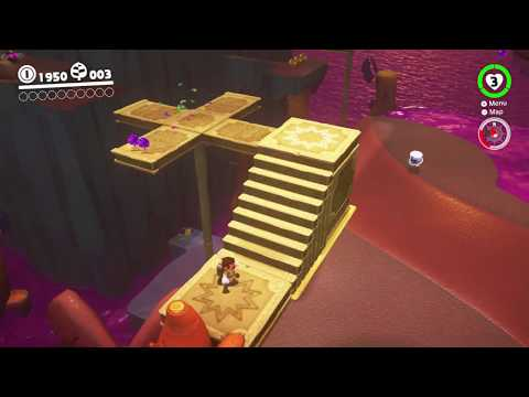 Super Mario Odyssey - Cappy's Lost in the Lost Kingdom - HD Gameplay