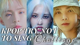 KPOP TRY NOT TO SING CHALLENGE #2 | fakeupurplejam