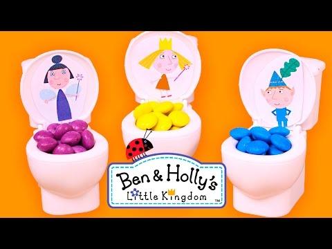 💦 LOS COLORES 💦 Con Ben y Holly de colores | Aprender Jugando