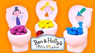 💦 LOS COLORES 💦 Con Ben y Holly de colores   Aprender Jugando