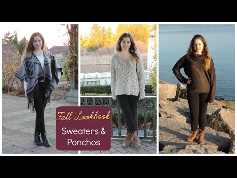 Fall Lookbook | Sweaters & Ponchos