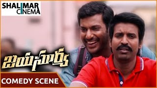 Jayasurya Movie || Soori Comedy Scene With Workers || Vishal, Kajal Aggarwal || Shalimarcinema